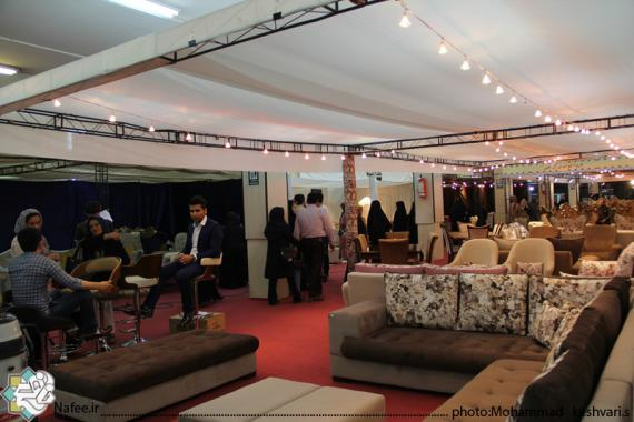 نمایشگاه مبلمان و لوستر در همدان