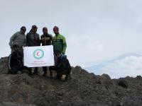 صعود جوانان و امدادگران فامنین به قله سیالان