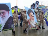 تصاویری از حواشی راهپیمایی 22 بهمن فامنین