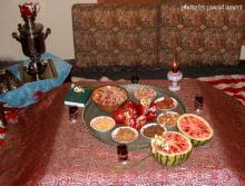 زیبایی لحظات پایانی پاییز، شب چله و سنت دیرین ایرانیان