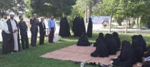 پیاده روی بانوان فامنین در روز عفاف و حجاب
