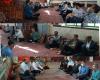 حضور دکتر محمد عندلیبی در بین مردم جهان آباد