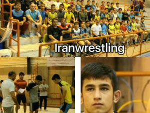 حضور دانش آموز فامنینی در اردوی تیم ملی کشتی آزاد نونهالان استان البرز